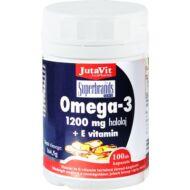 Omega-3-pro Halolaj, 1200mg+E-vit, 100x, Jutavit