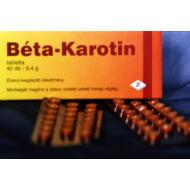 Béta-Karotin 10mg tbl, 40x
