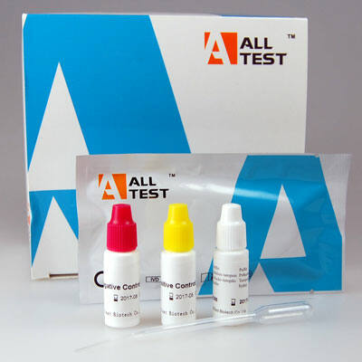 Mononucleosis tesztlap, vér/szérum/plazma, 20x
