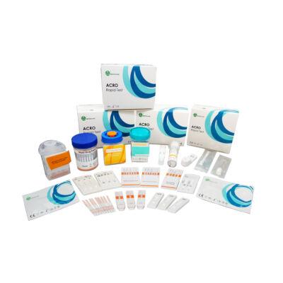Multidrog 5 nyálból tesztlap,OXY40/PGB50/TML30/FYL50/COT20