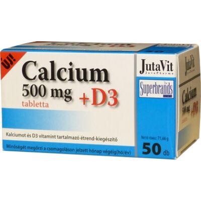 Calcium 500mg + D3 tabletta 50x JutaVit