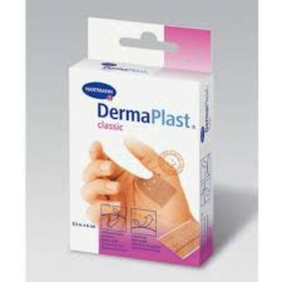 DermaPlast Classic,vágható,6x10cm,5x
