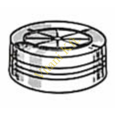 Kupak, Centrifichem 0.25 ml mintatartóhoz, nyílással, 100x