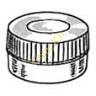 Centrifichem mintatartó kupak 4 fajta mintatartóhoz, PE         *!