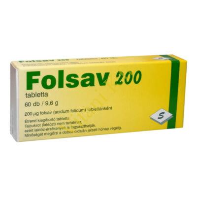 Folsav 200, 60x