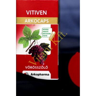 Vitiven (Vörösszôlô) kapszula, Arkocaps, 45x