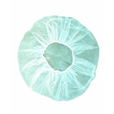 Hajháló körsapka (nővérsapka), fehér, 100 db