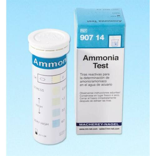 Ammónia teszt, 0-0,5-1-3-6mg/l NH4+,100x