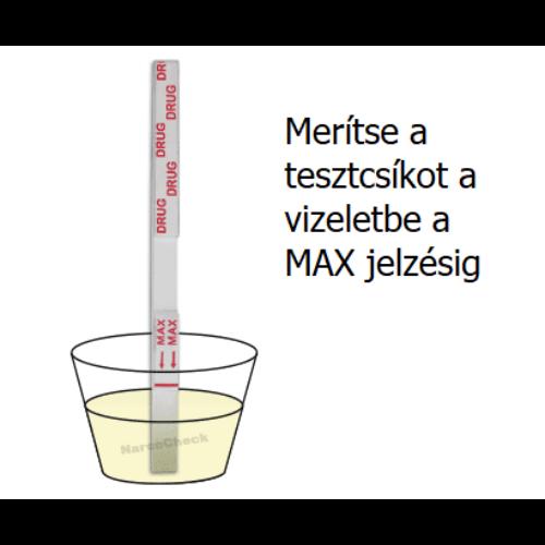 Benzodiazepin (BZO) tesztcsík, 200ng/ml, 50x