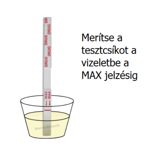 Buprenorfin (BUP) tesztcsík, 10ng/ml, 10db