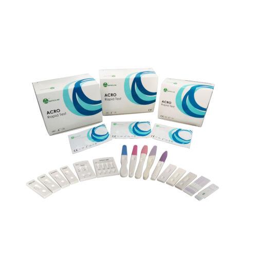 Terhességi tesztcsík, vizelet 10mIU/ml, 100x (ultraérzékeny)