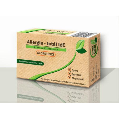 Allergia Totál IgE tesztlap,vérbôl,önellenőrzésre.1x