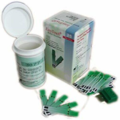 Wellmed ET Glükóz tesztcsík, 2x25x (dupla csomag)