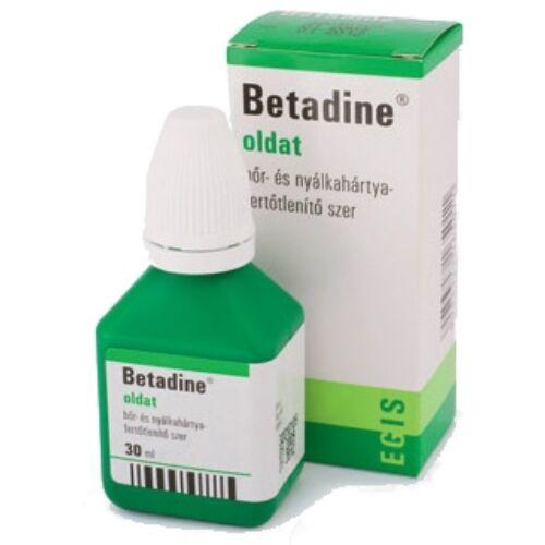 Betadine oldat, 30ml