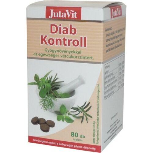 Diab Kontroll tabletta 80x Jutavit