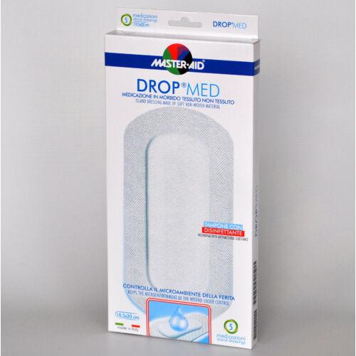 Sebfedô tapasz, 10,5x20cm, vízálló, fertőtlenítős. Drop med, 5x
