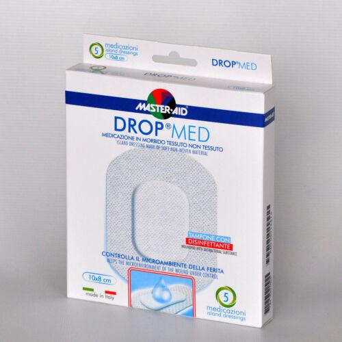 Sebfedô tapasz, 10x8cm, vízálló, fertőtlenítős. Drop med, 5x