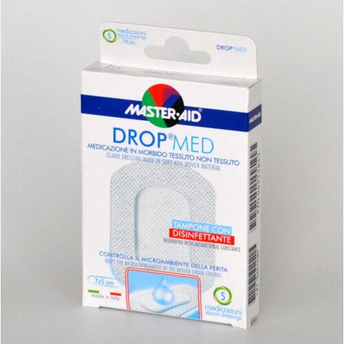Sebfedô tapasz, 5x7cm, vízálló, fertőtlenítős. Drop med, 5x