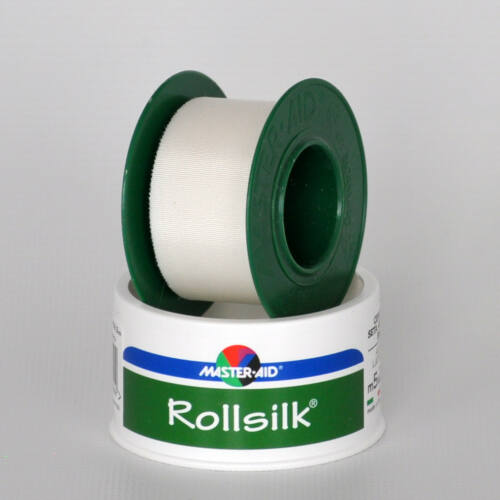 Ragtapasz, 5mx2,5cm, RollSilk, Masteraid