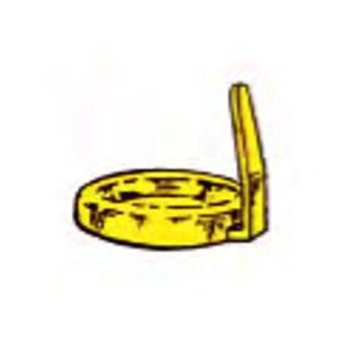 Kupak sárga, füles,18159 és 18169-hez,1500db