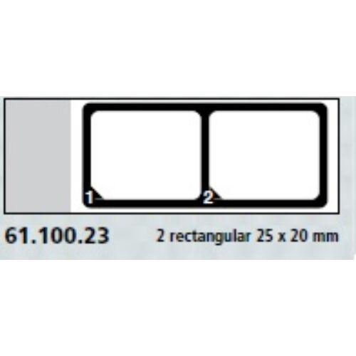 Teflon bevonatú tárgylemez, 2x25x20mm,számozott.  100x