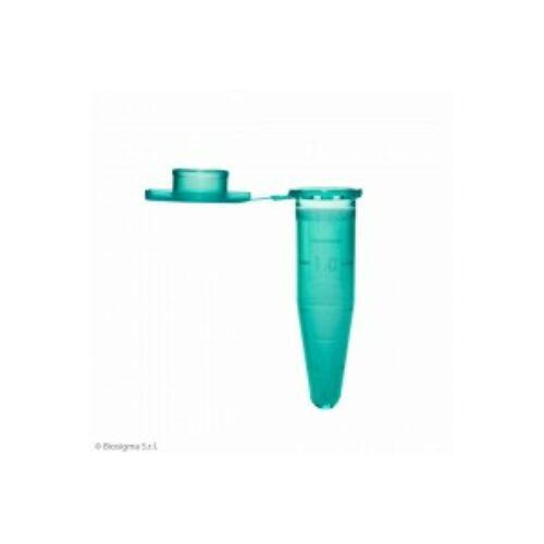 Eppendorf mikrocsô,1.5ml,PP,zöld,1000x