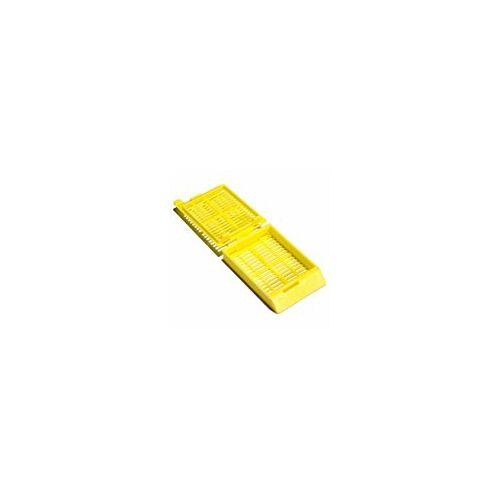 Beágyazó kaz,hiszt,POM,sárga,40x28x7mm,500x