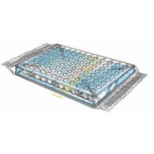 Mikrotiter lemez,lapos alj,PS,50x