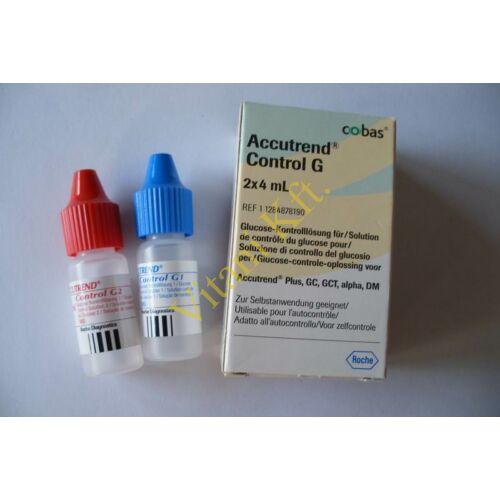 Accutrend Glükóz kontroll oldat,2x4 ml