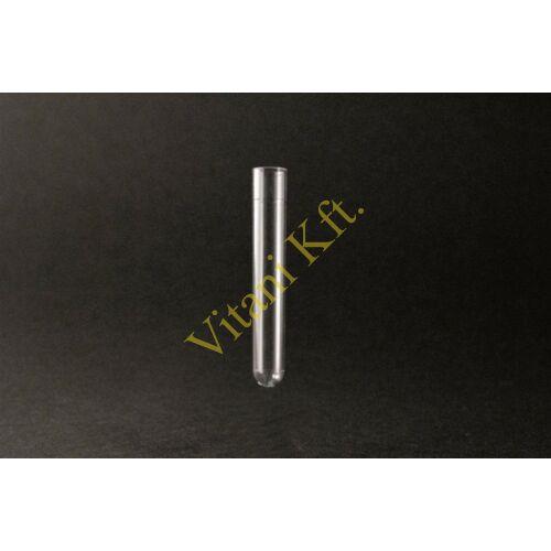 Kémcsô, 5ml, 12x75mm, Sorwall, PS, 1000x