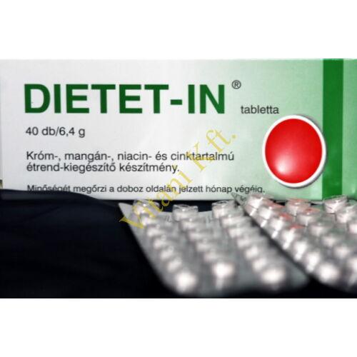 DIETET-IN tbl, 40x