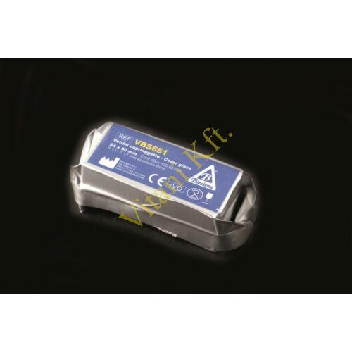 Fedôlemez,24x60mm,100x